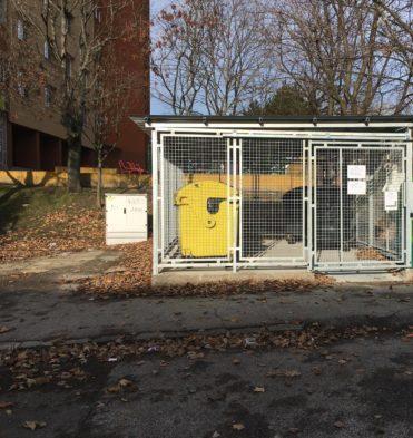 BPD správa domov - nové kontajnerové stojisko na Považanovej ulici